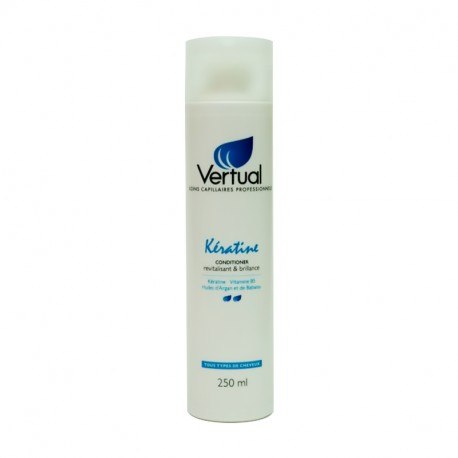 Conditioner revitalisant & brillance 250ml Vertual Kératine
